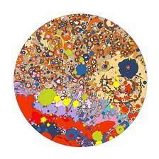 North side of the moon, geologic map