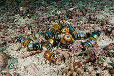 Batteries on the ocean floor
