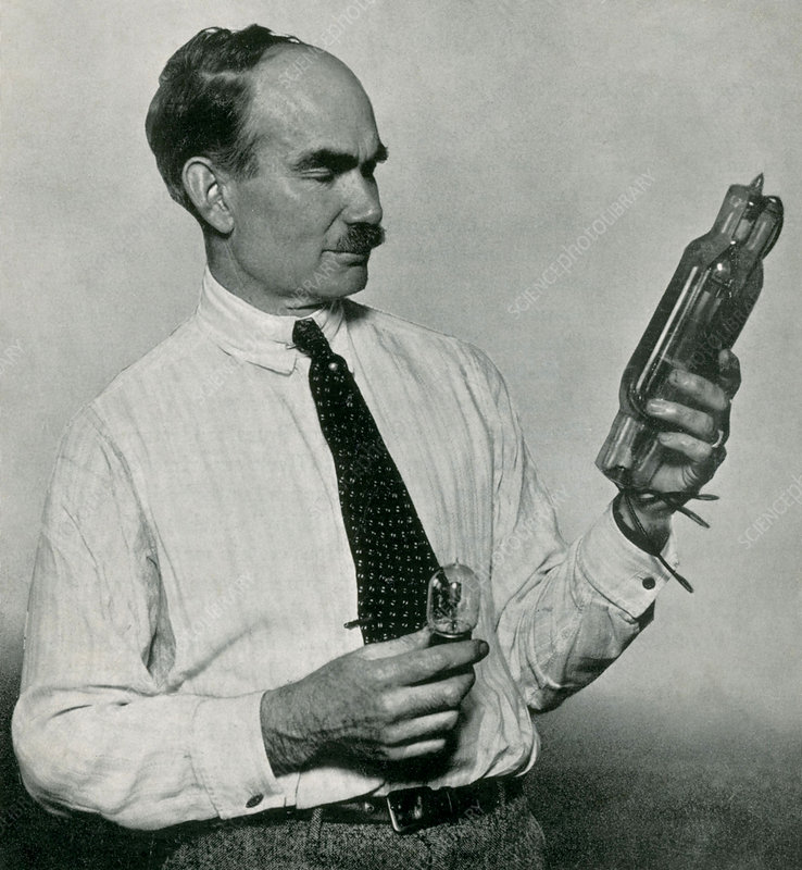 a biography of lee de forest the american inventor of audion vacuum tube Lee de forest (august 26, 1873 – june 30, 1961) was an american inventor with over 180 patents to his credit he named himself the father of radio, with th.