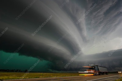Monster Supercell Storm
