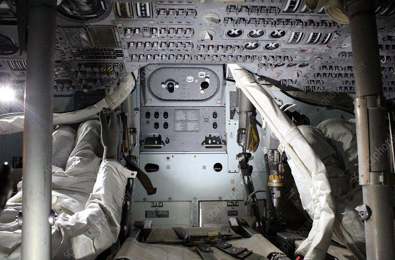 inside apollo space capsule - photo #16
