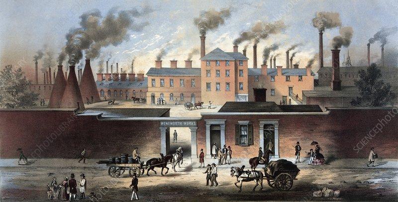 Sheffield steel industry, 19th century - Stock Image - C013/0225 ...