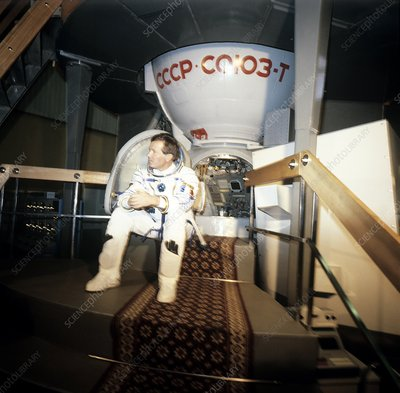 Jean-Loup Chretien, French cosmonaut