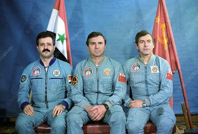 Crew of Syrian-Soviet space mission
