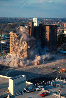 Building Implosion
