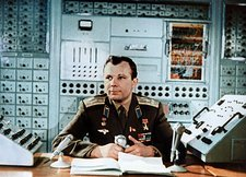 Yuri Gagarin, first man in space, 1964