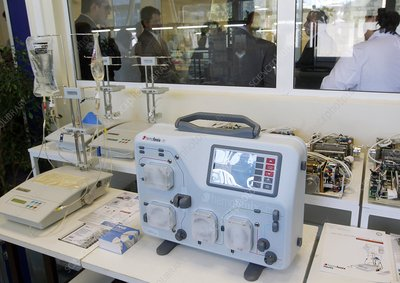 Plasmaphoresis device at factory