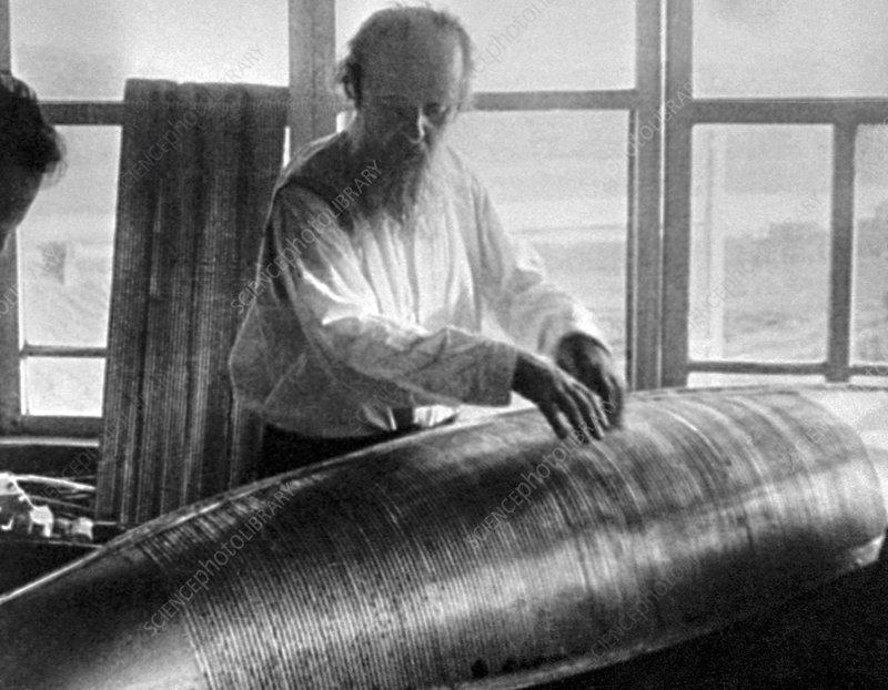 Konstantin Tsiolkovsky, rocket pioneer