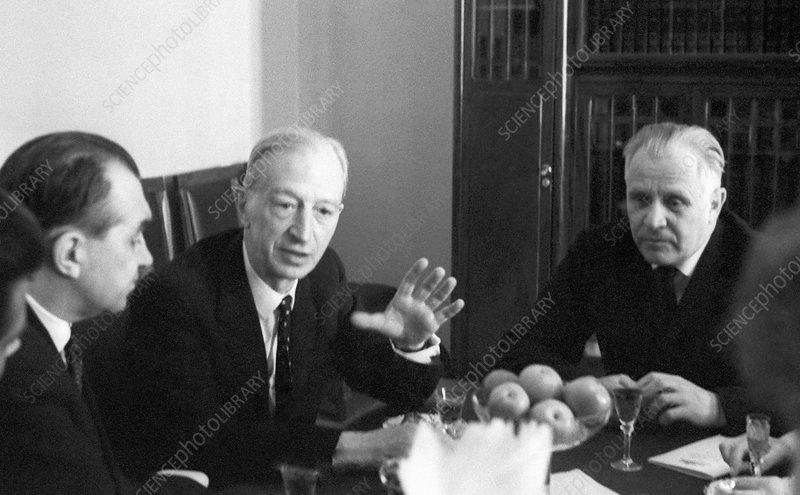 British-Soviet medical conference, 1968