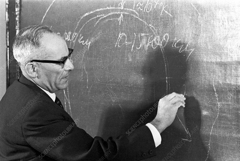 S. Mandelstam, Soviet rocket scientist