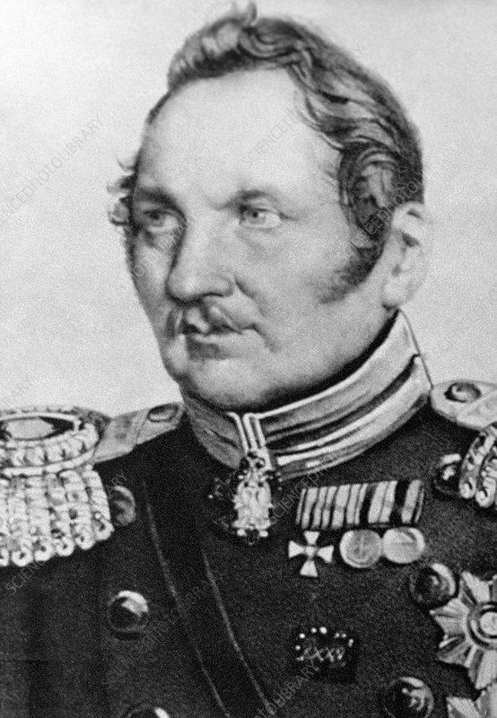 Fabian Bellingshausen, Russian explorer