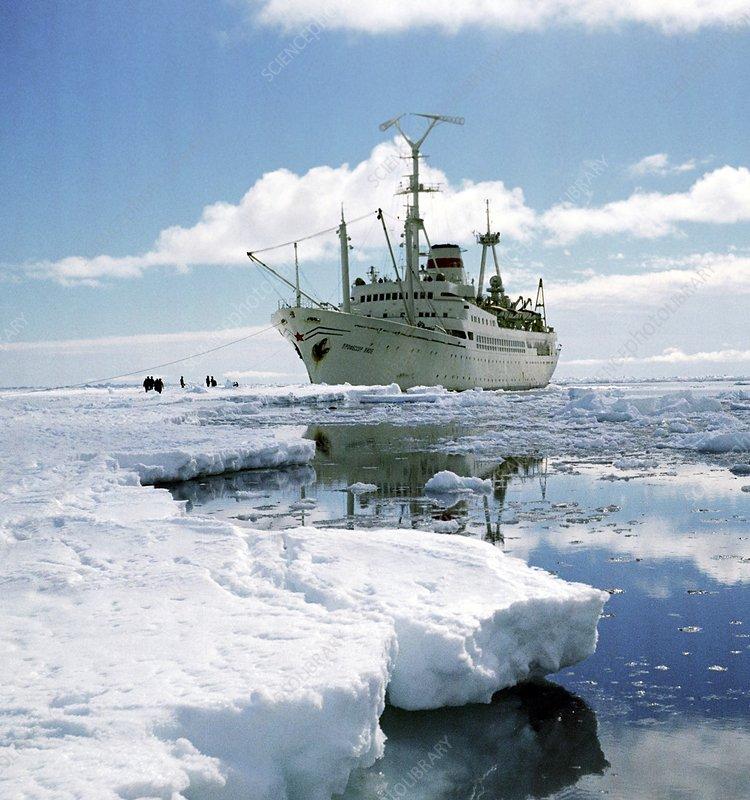 Professor Vize research ship, Antarctica