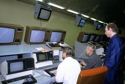 Nuclear fusion reactor control room