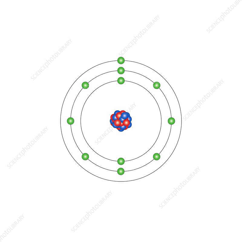 sodium atomic structure stock image c013 1517 science. Black Bedroom Furniture Sets. Home Design Ideas
