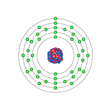 Niobium, atomic structure