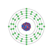 Tin, atomic structure