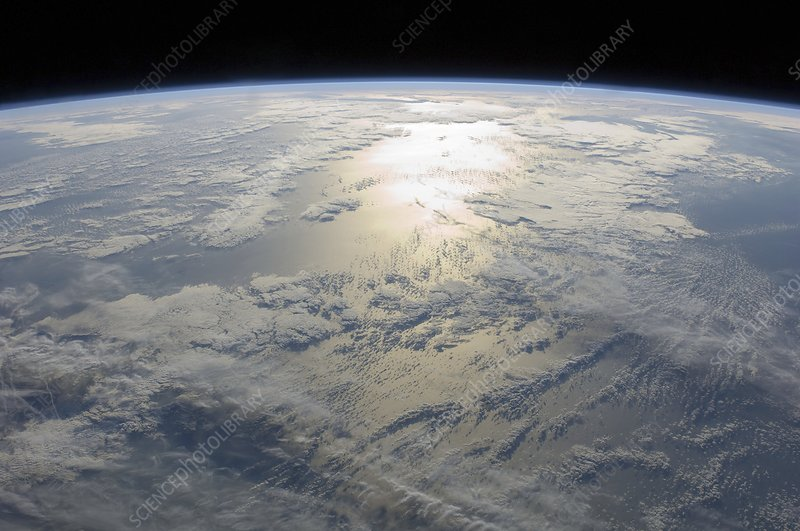 Earth from space, ISS image