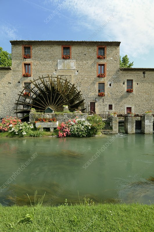 Watermill, France