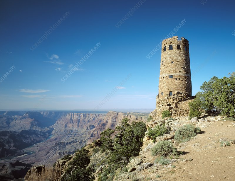 Desert View Watchtower, Grand Canyon