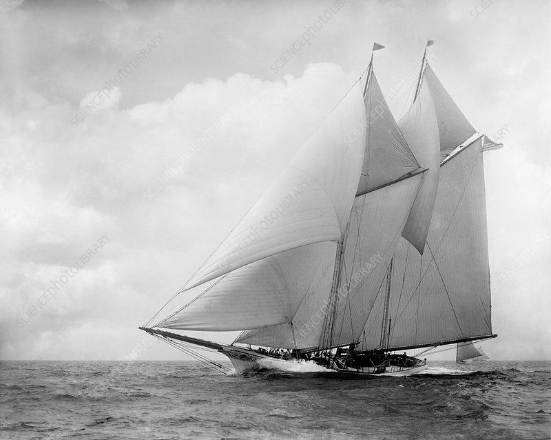 Yacht America, circa 1910
