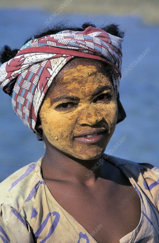Vezo girl, Madagascar
