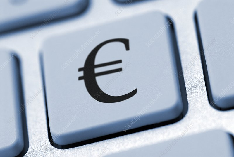 Euro Symbol On A Keyboard Stock Image C0132399 Science Photo