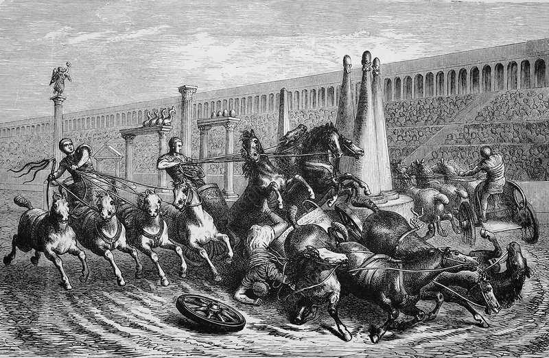 Chariot racing, Ancient Rome