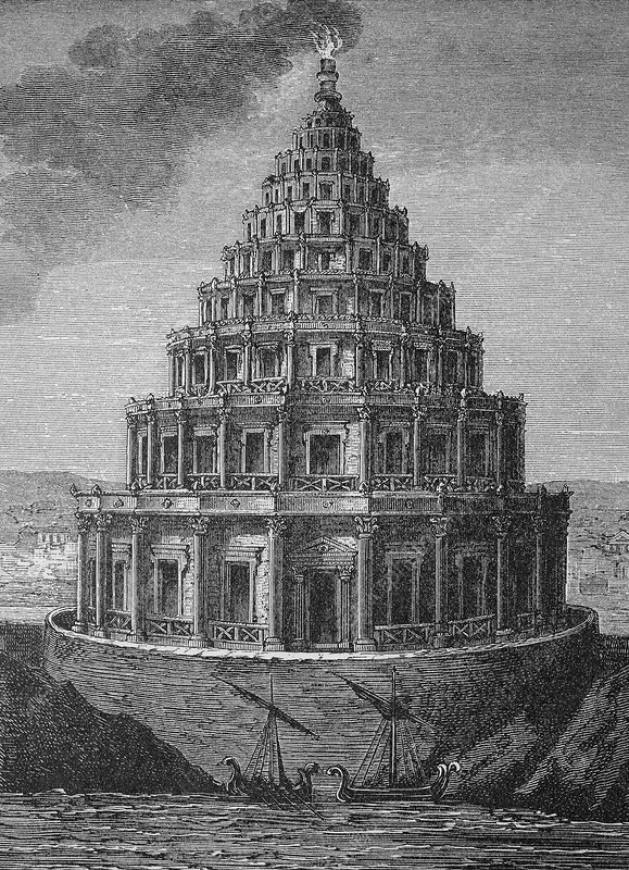 Lighthouse of Alexandria, Ancient Egypt