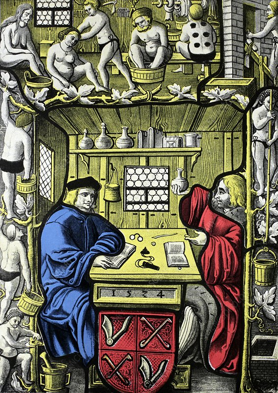 Bathhouse owners, 16th century