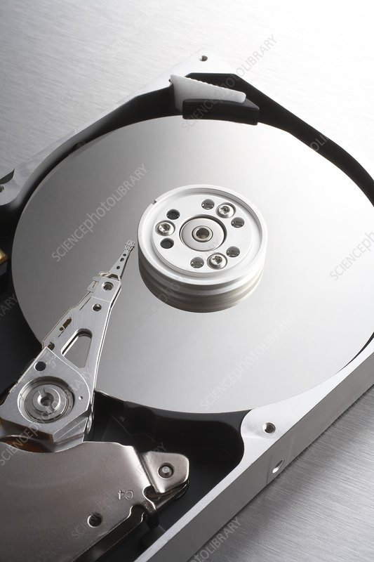 Dysprosium-containing hard disk drive