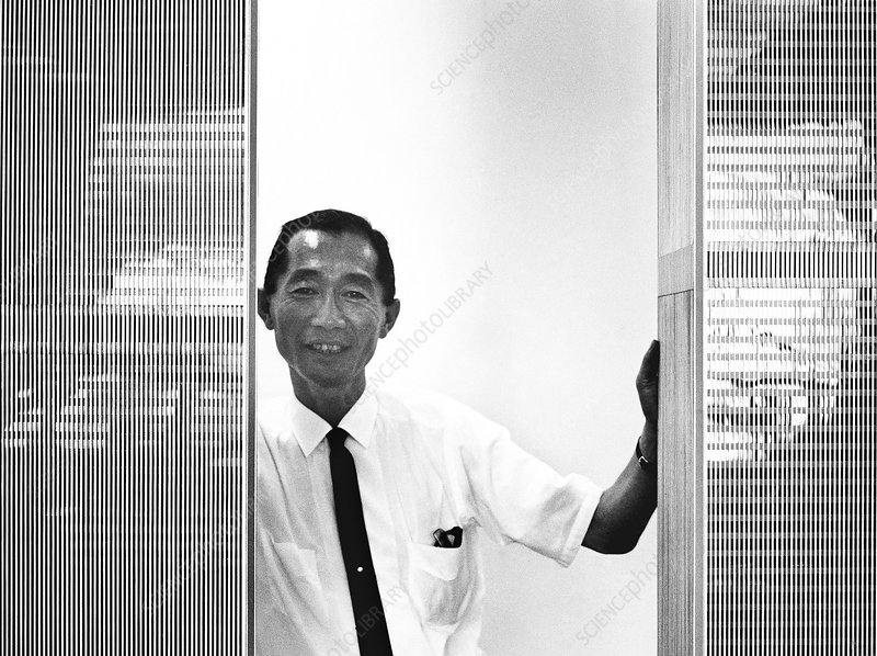 Minoru Yamasaki, US architect