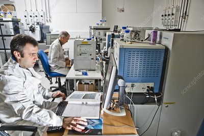 Mass spectrometry laboratory