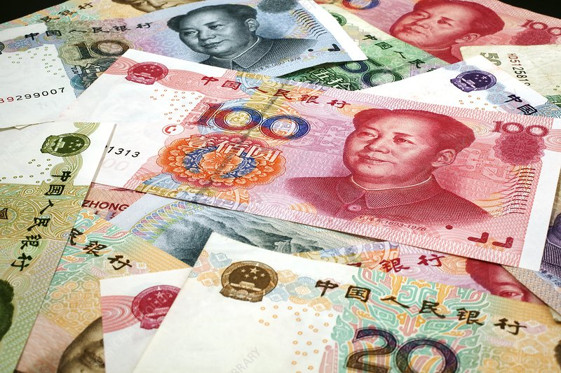 Chinese banknotes