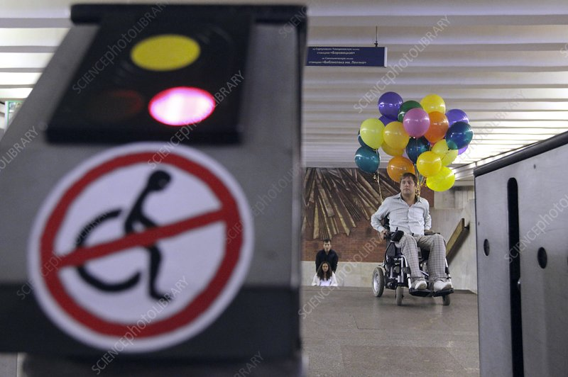 Disability rights campaigner, Moscow