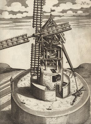 Windmill design, 17th century
