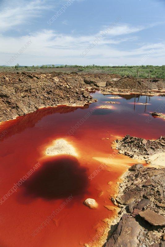 Acid mine drainage, Kenya