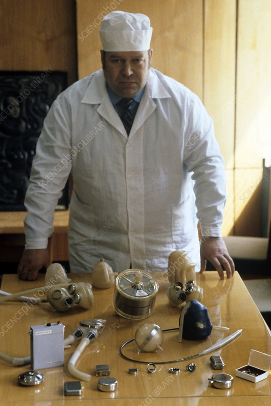 Valery Shumakov, transplant surgeon