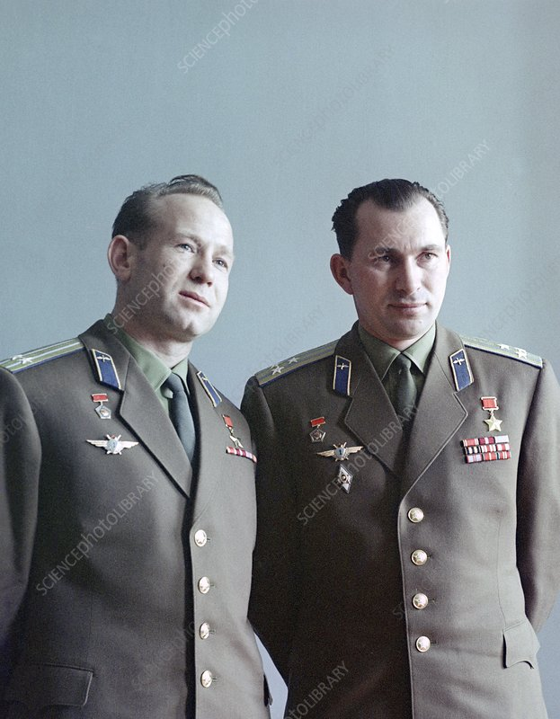 Cosmonauts Belyayev and Leonov