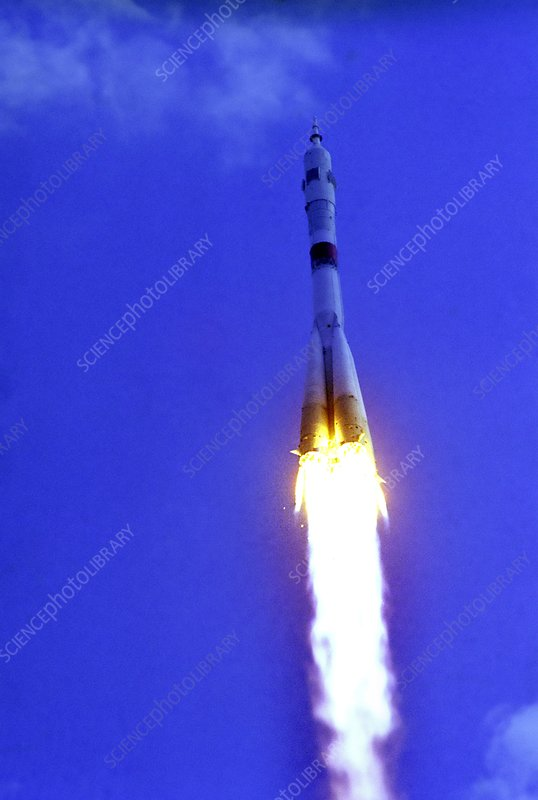 Soyuz 19 rocket launch