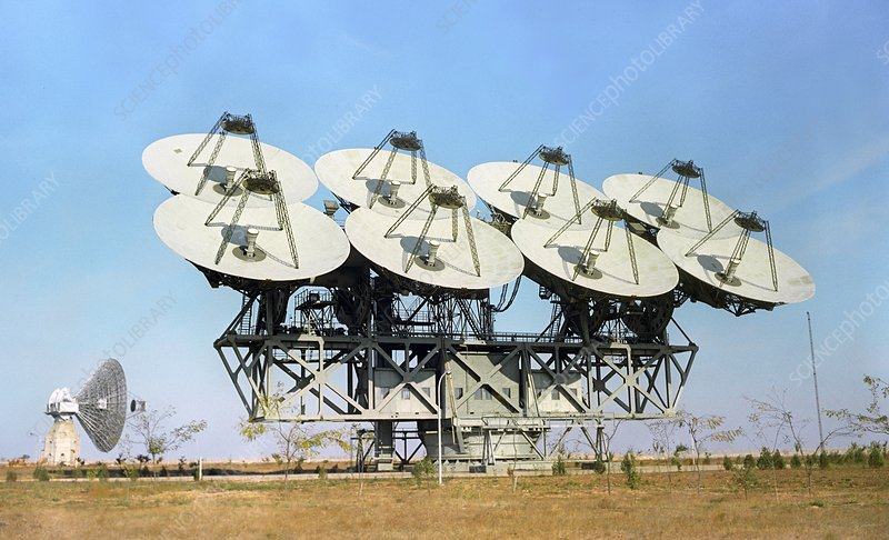 Soviet deep space communications centre