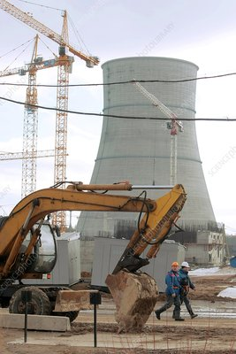 Nuclear power station construction