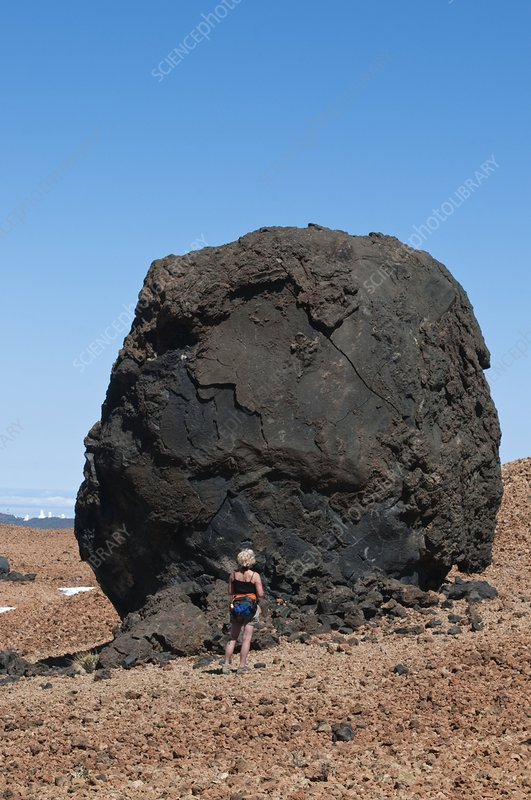 Volcanic 'egg', Canary Islands