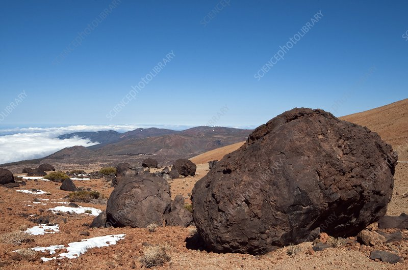 Volcanic 'eggs', Canary Islands