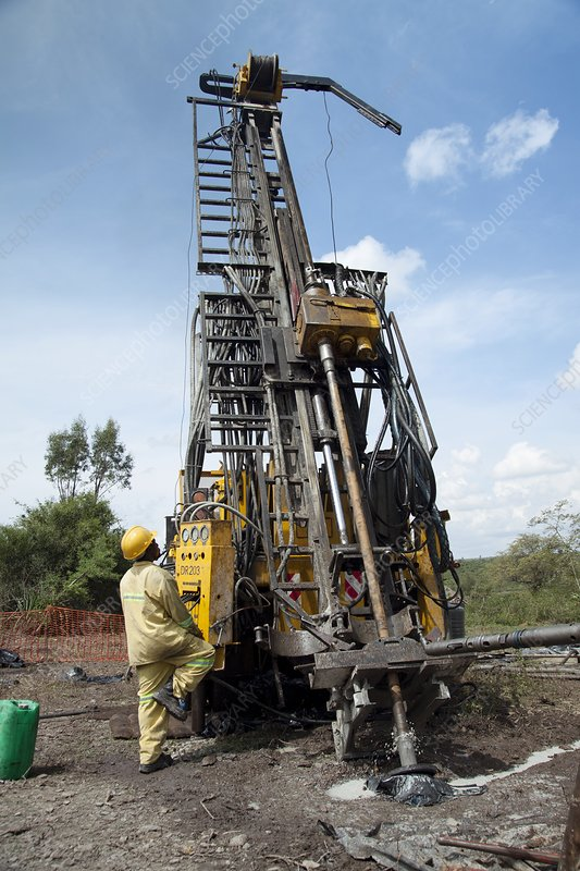 Mineral exploration drilling, Kenya