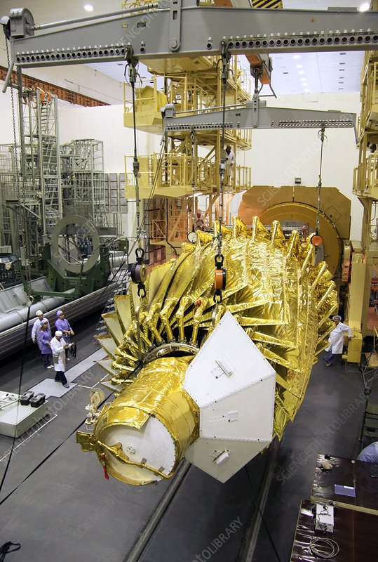 Spektr-R space telescope preparations