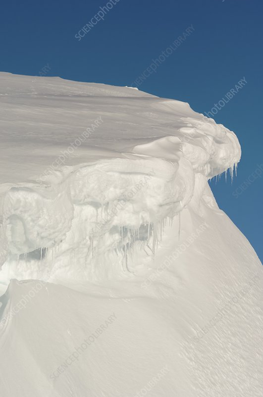 Cornices in the Cairngorms, Scotland