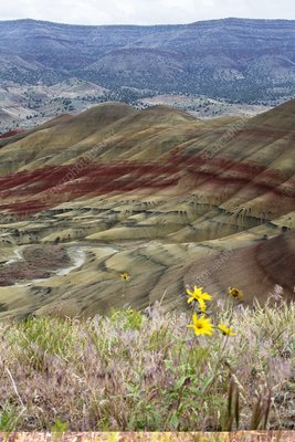 Painted Hills, John Day Fossil Beds