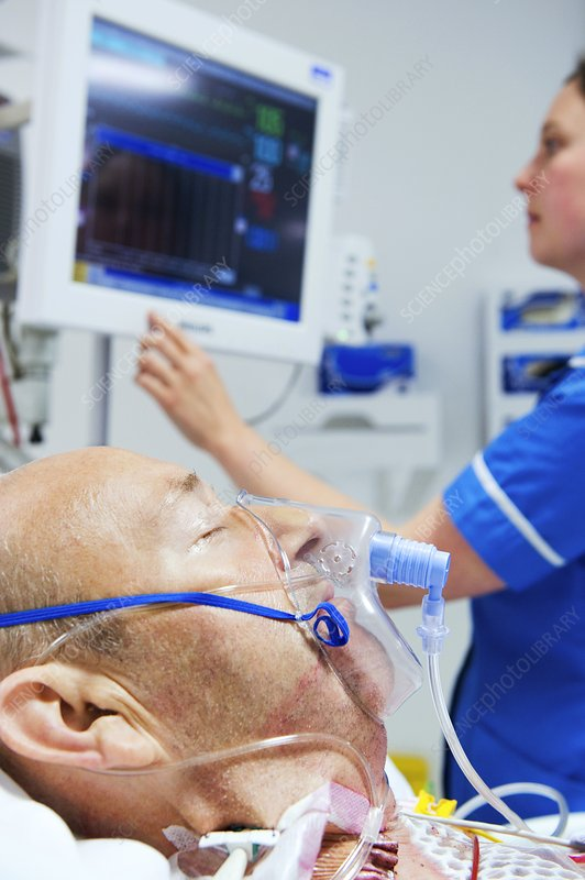 Intensive care patient