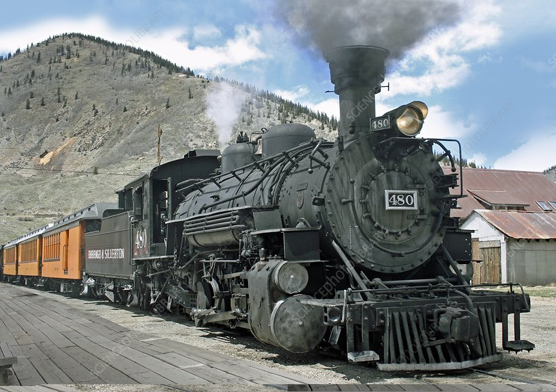 American steam locomotive