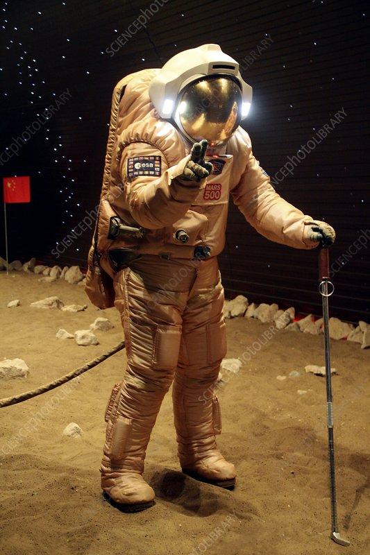 Mars-500 landing simulation